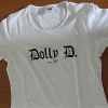 Dolly D. - weiß (Girlie-Shirt)
