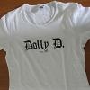 Dolly D. - weiß (Girlie-Shirt)